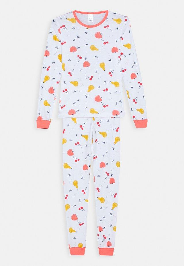 KIDS SCHLAFANZUG LANG - Pyjama - weiß