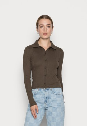 ADINA  - Button-down blouse - wren
