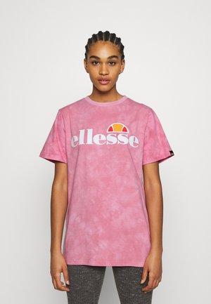 NEWHAY - Print T-shirt - pink