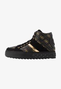 Guess - FIXIN - Sneakersy wysokie - black - 1