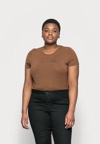 Vero Moda Curve - VMJUDY - Slim fit jeans - black - 0