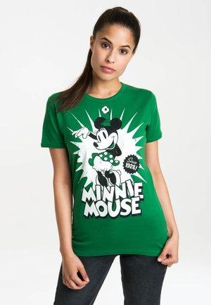 T-SHIRT MINNIE MOUSE SINCE 1928 - Print T-shirt - grün