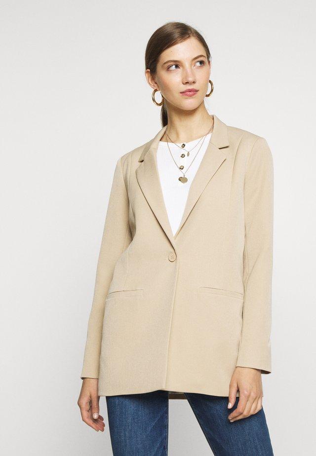 TARA - Short coat - tan