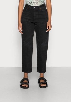 Jeansy Relaxed Fit - black