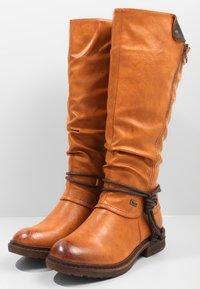 Rieker - Zimní obuv - cayenne choco - 3