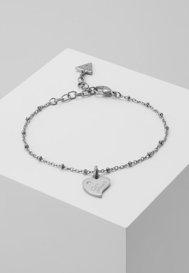 QUEEN OF HEART - Armband - silver-coloured