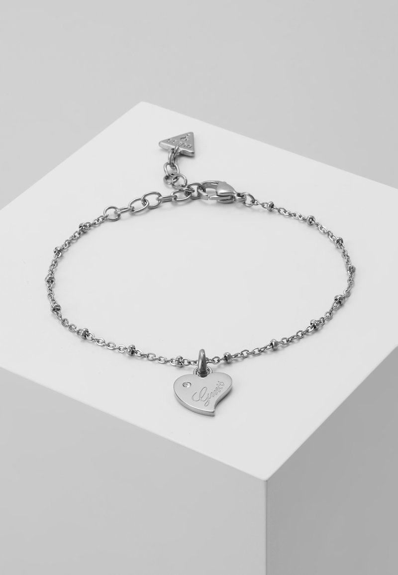 Guess - QUEEN OF HEART - Bracelet - silver-coloured