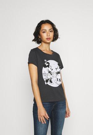 ONLMICKEY MINNIE OLD - T-shirt z nadrukiem - phantom