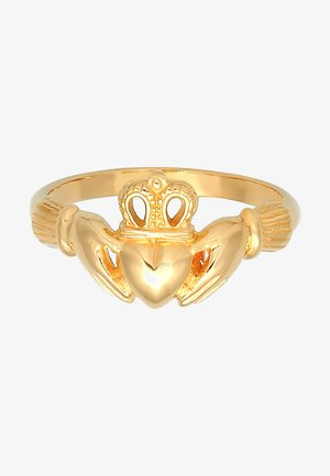 HEART CROWN - Ring - gold