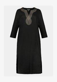 Ulla Popken - Day dress - schwarz - 1