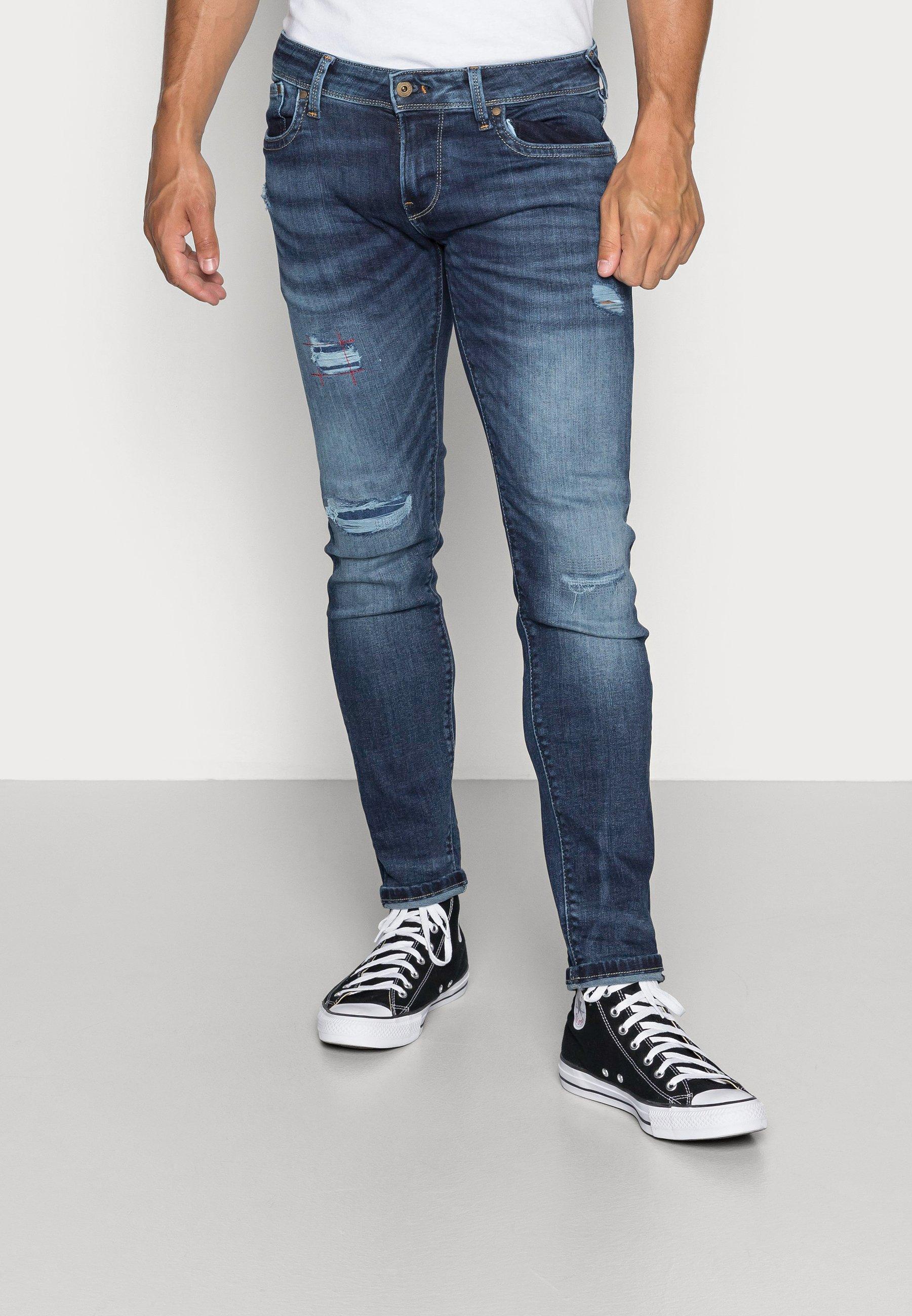 Men HATCH POWERFLEX - Slim fit jeans - dark used