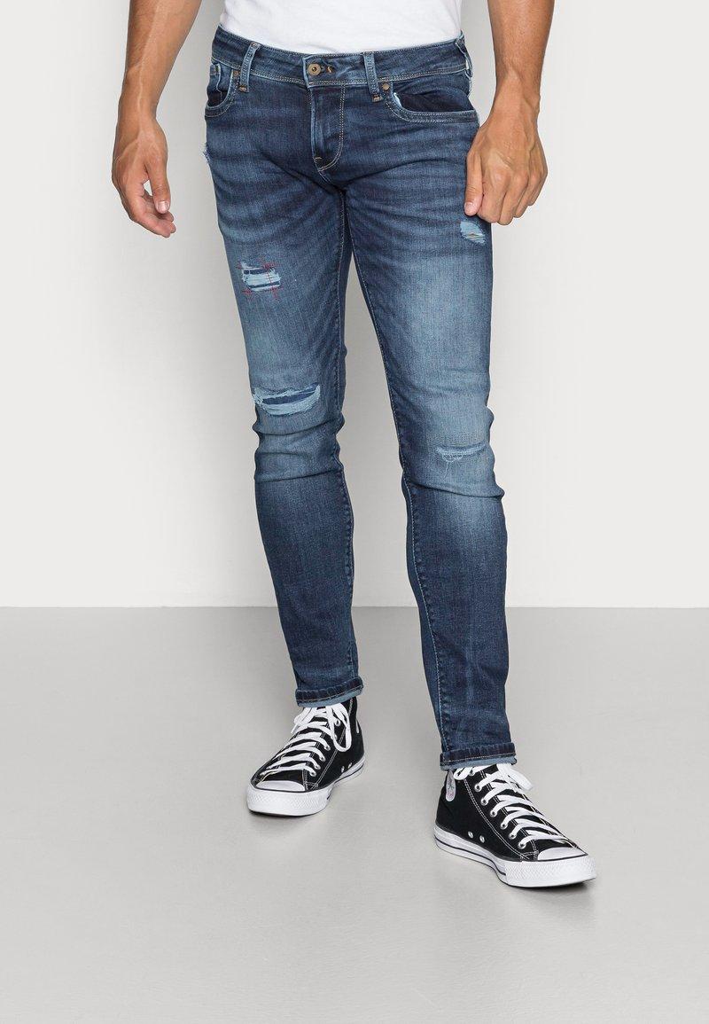 Pepe Jeans - HATCH POWERFLEX - Slim fit -farkut - dark used