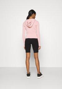Weekday - LUELLA HOOD - Zip-up sweatshirt - pink medium - 2