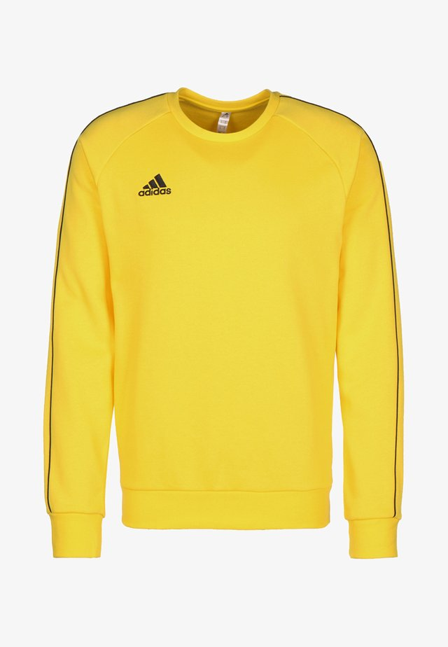 CORE ELEVEN FOOTBALL LONG SLEEVE PULLOVER - Felpa - yellow