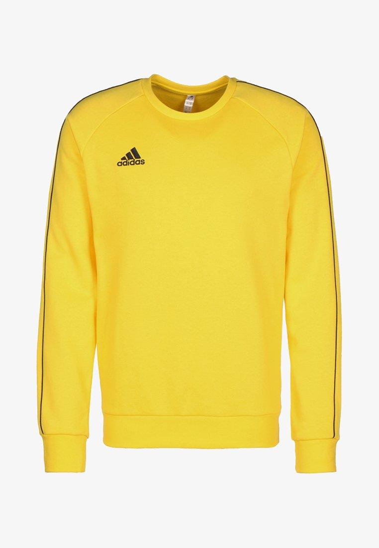 adidas Performance - CORE ELEVEN FOOTBALL LONG SLEEVE PULLOVER - Sweatshirt - yellow