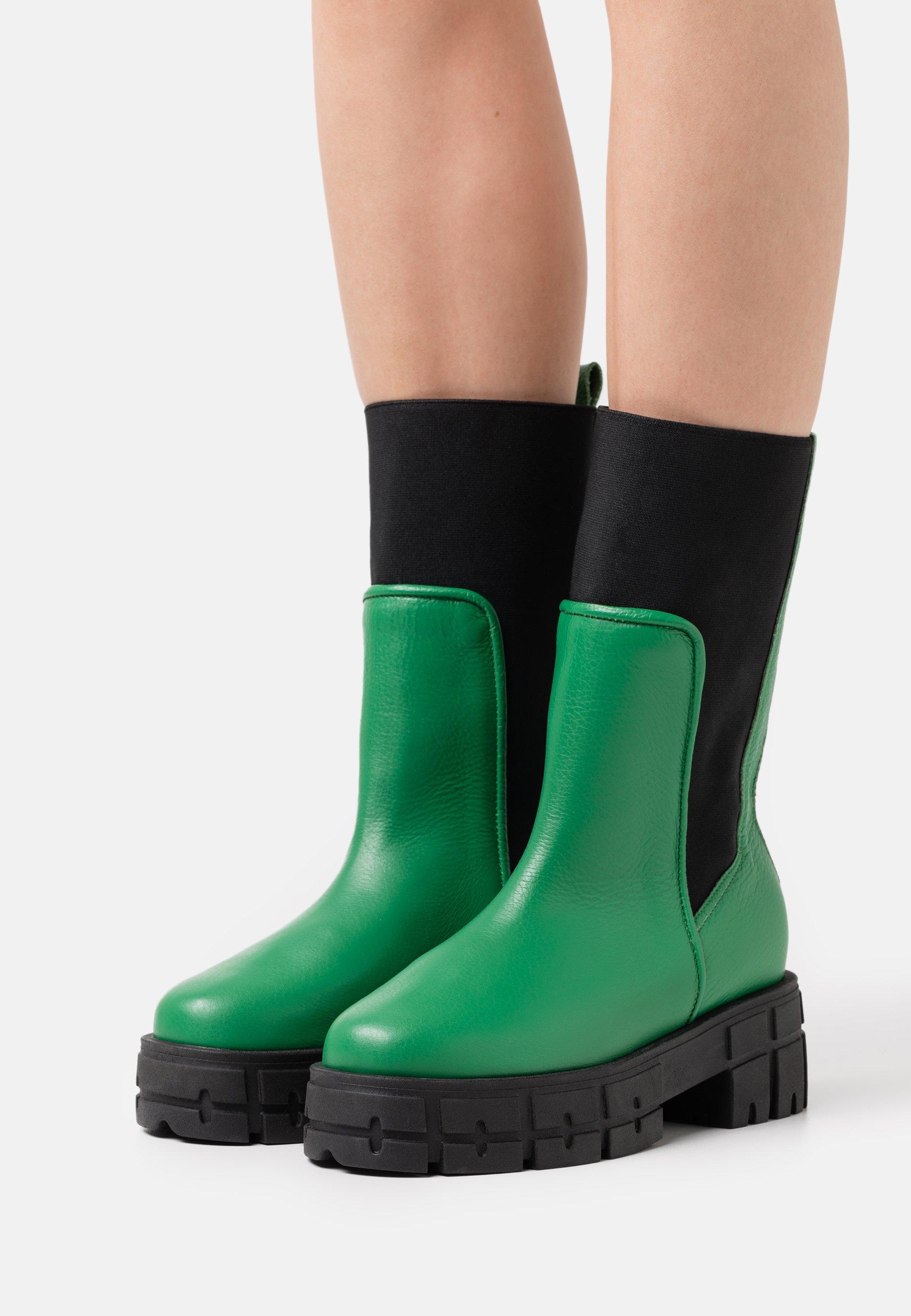 Women HELLO AND GOODBYE - Platform boots