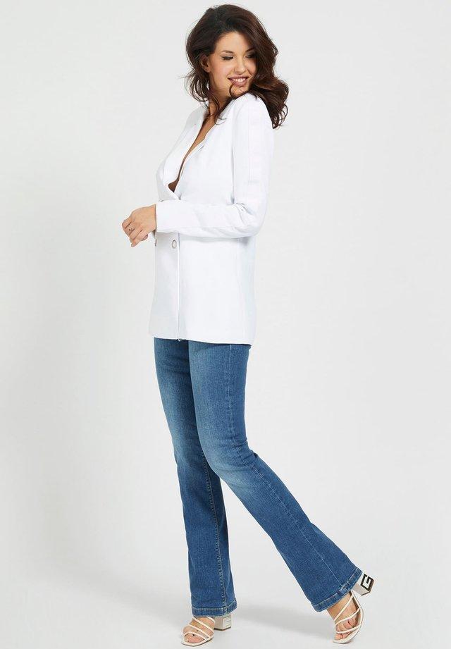 Manteau court - weiß