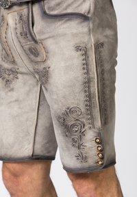 Stockerpoint - Leather trousers - rauch geäscht - 6
