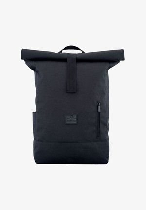 ROLL TOP AARON - Mochila - black