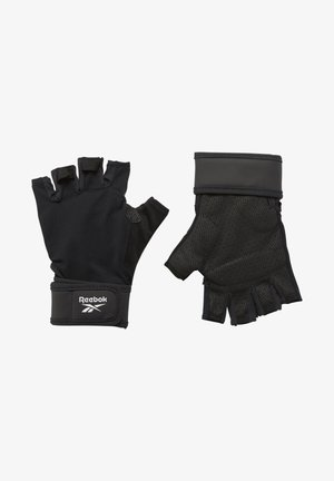 ONE SERIES WRIST GLOVES - Kurzfingerhandschuh - black