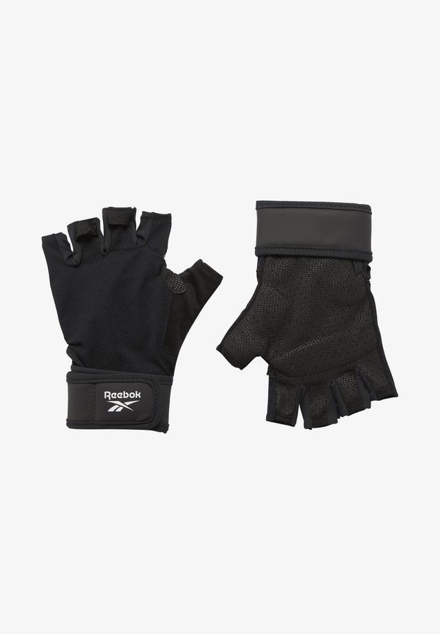 ONE SERIES WRIST GLOVES - Fingerless gloves - black