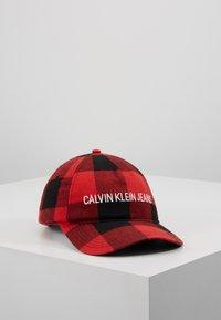Calvin Klein Jeans - CHECK - Casquette - black - 0