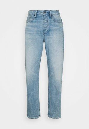 CROP LENGTH - Straight leg -farkut - blue
