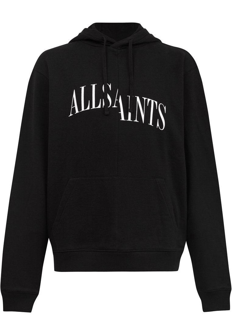 AllSaints DROPOUT - Sweat à capuche - black