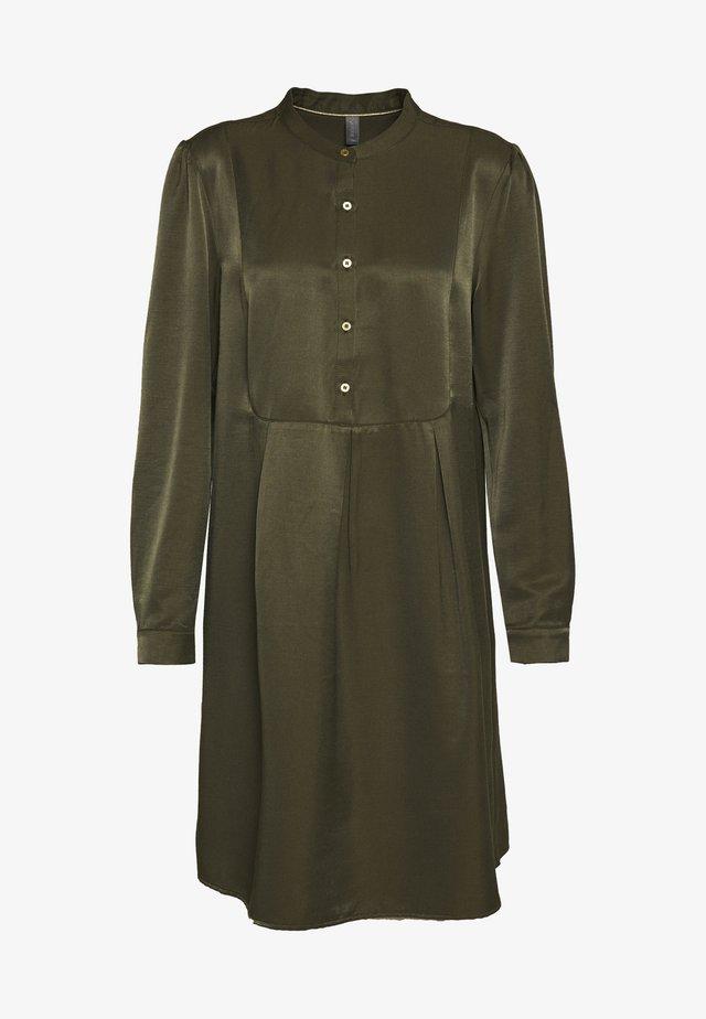CUCORNELIA DRESS - Shirt dress - olive night