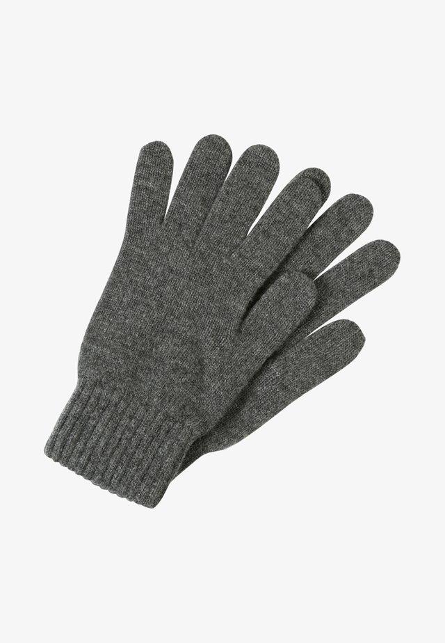 CASHMERE GLOVES - Gloves - midgrey