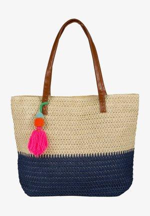 Beach accessory - beige dunkelblau
