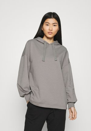 OVERSIZED BALLOON SLEEVE HOODIE - Sweat à capuche - grey