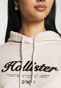 Hollister Co. - TERRY TECH CORE - Sweatshirt - cream - 4