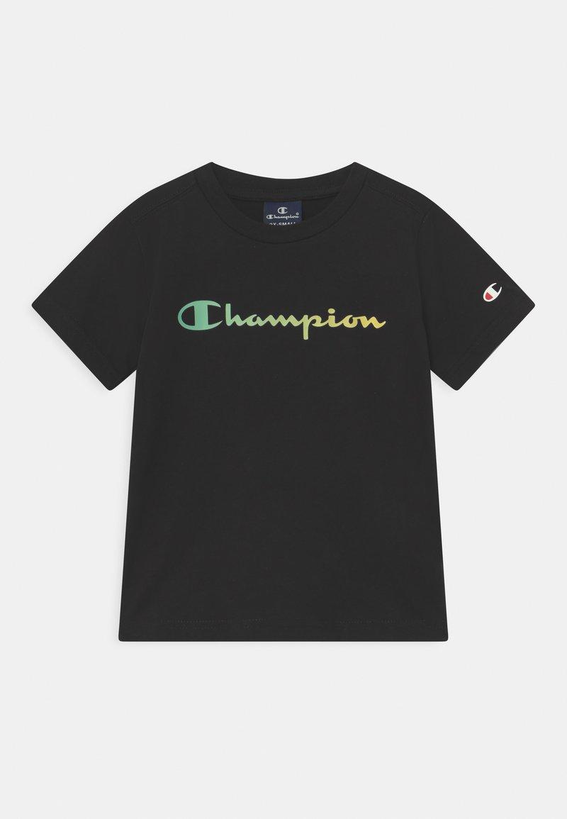 Champion - AMERICAN PASTELS CREWNECK UNISEX - T-shirt med print - black