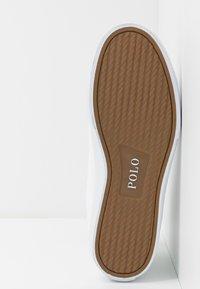 Polo Ralph Lauren - SOLOMON - Vysoké tenisky - white - 4