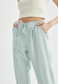 DeFacto - Tracksuit bottoms - turquoise - 3