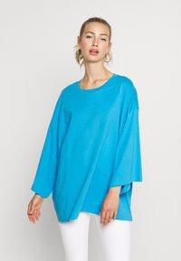 BILLIE TEE - Long sleeved top - blue bright