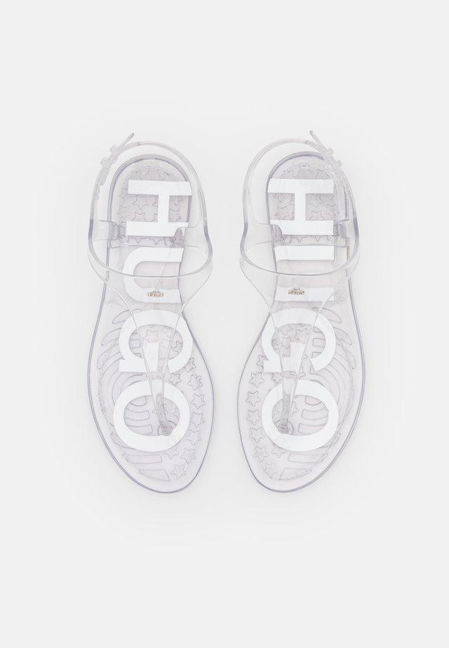 EMMA FLAT  - Tongs - transparent