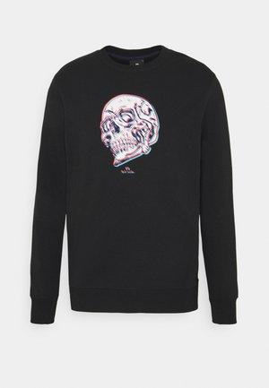 MENS REGULAR FIT SKULL - Sweatshirt - black/multi-coloured