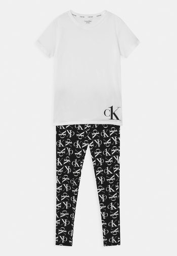Pyžamová sada - white/black