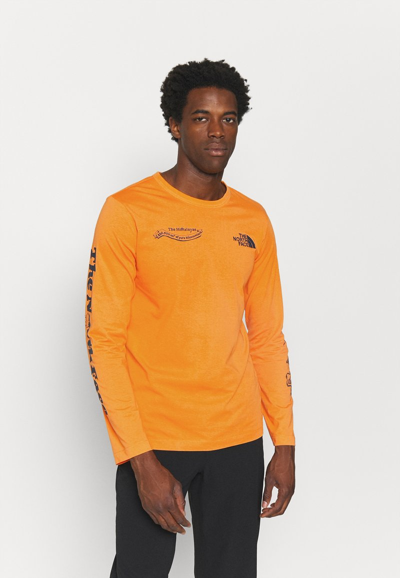 The North Face - HIMALAYAN BOTTLE SOURCE - Long sleeved top - orange