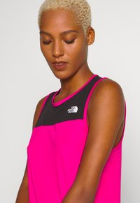 The North Face - WOMENS ACTIVE TRAIL TANK - Sports shirt - mr. pink - 4