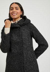 Vila - Classic coat - medium grey melange - 3