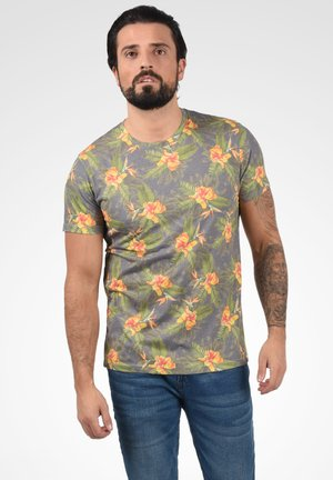 FAIK - T-shirt imprimé - dark grey
