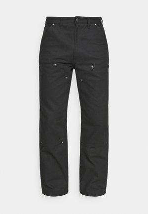 UTILITY PANT - Kalhoty - black
