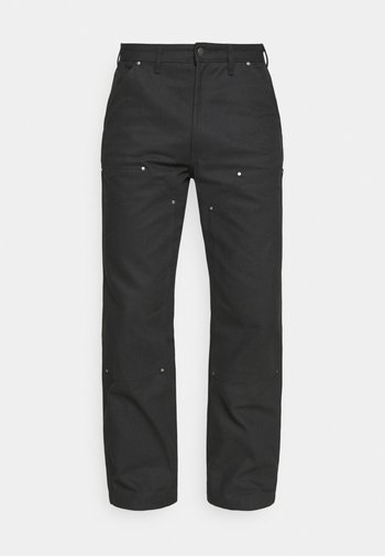 UTILITY PANT - Trousers - black