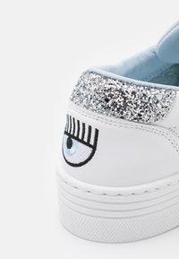 CHIARA FERRAGNI - LACE LOGOMANIA - Sneakersy niskie - white - 6