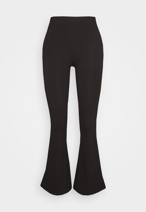 PETRA TROUSERS - Trousers - black
