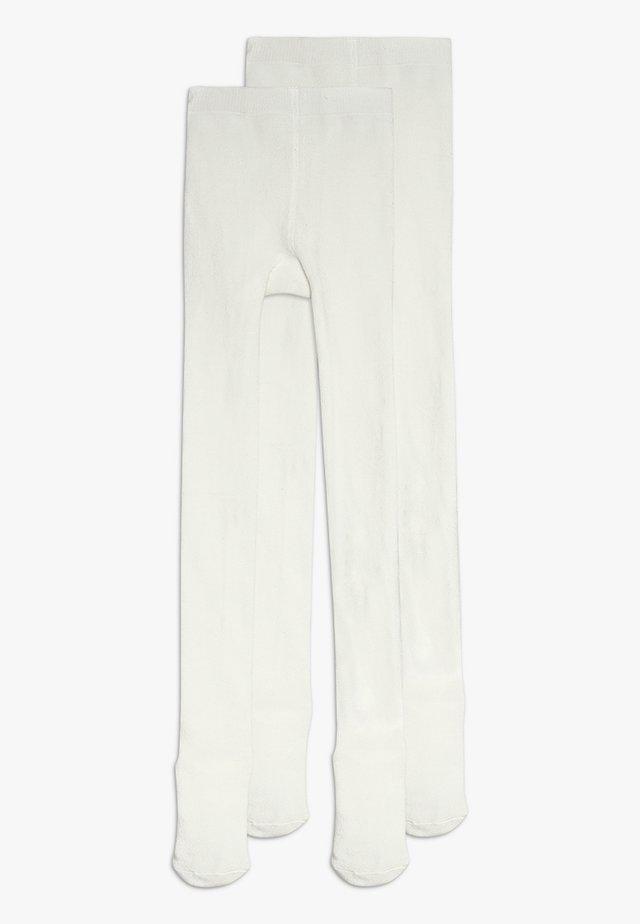 NMNPANTYHOSE 2 PACK - Strumpfhose - bright white