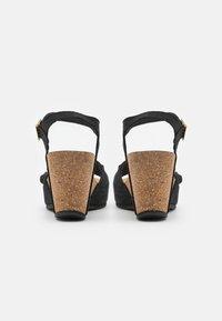 Copenhagen Shoes - ELVIRA  - Platform sandals - black - 3